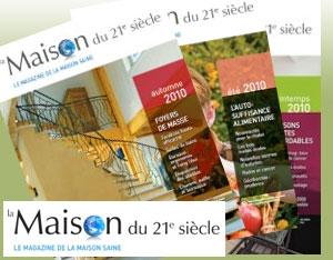 Magazine La Maison du 21e siècle